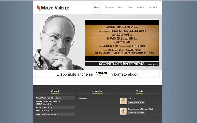 Pasquale cipriani creazione ecommerce e siti internet for Valente arredamenti